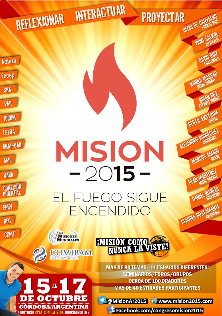 Misión 2015 | 15 al 17 de octubre